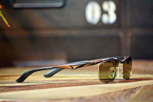 ◎フレーム:Zeque by ZEAL OPTICS/WALZ ◎レンズ:TALEX/TRUEVIEW SPORTS