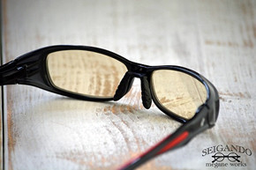 ◎フレーム:ZEAL OPTICS/CVARO DL ◎レンズ:TALEX/mo'eye BROWN