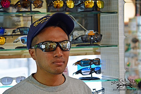 ◎フレーム:OAKLEY/PITBULL CUSTOM ◎レンズ:TALEX/TRUEVIEW SPORTS