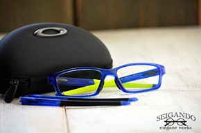 ◎フレーム:OAKLEY/CROSSLINK PITCH ◎レンズ:HOYA/ALOTH