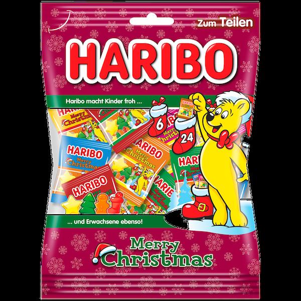 Haribo Weihnachten.Süsse Weihnachten Candy Bazar Zürich Bern Basel Aargau St