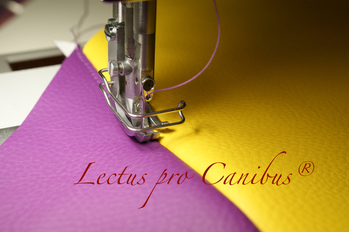 Jedes Lectus pro canibus® Hundebett wird einzeln in Handarbeit gefertigt
