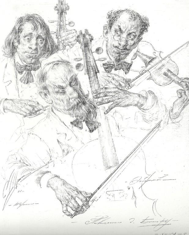 Improvisation (Bleistift  25x35 2006)