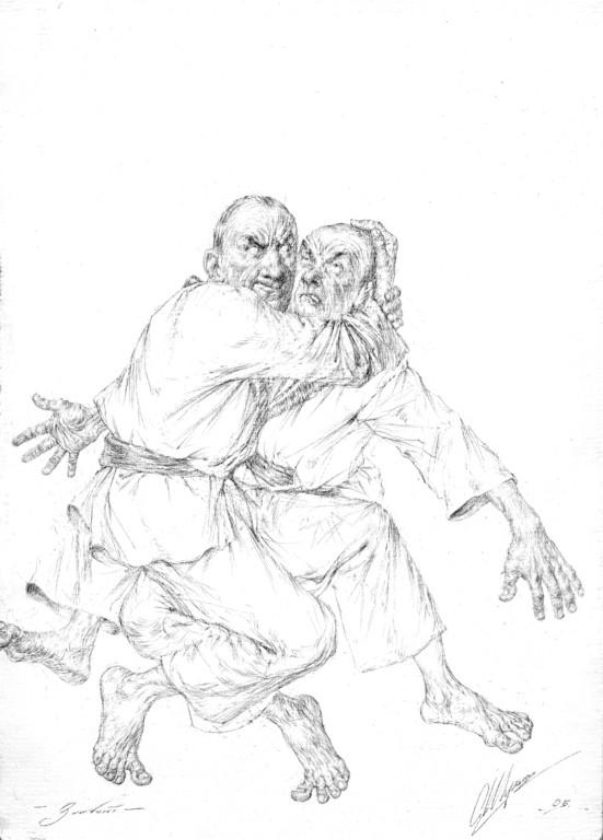 Kampf (Bleistift 20x30 2005)