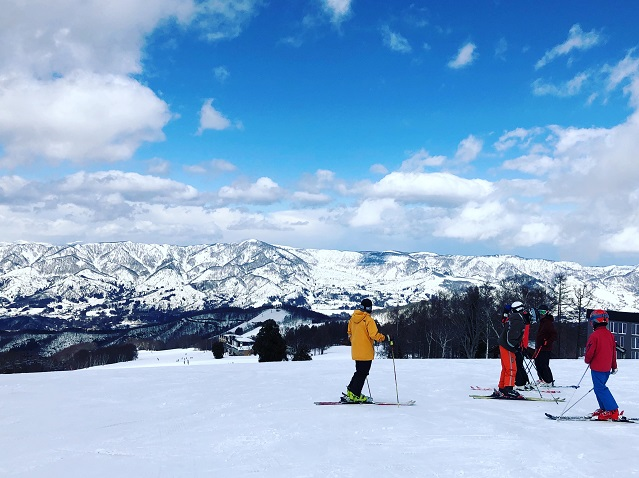 大好きなスキーと銀世界