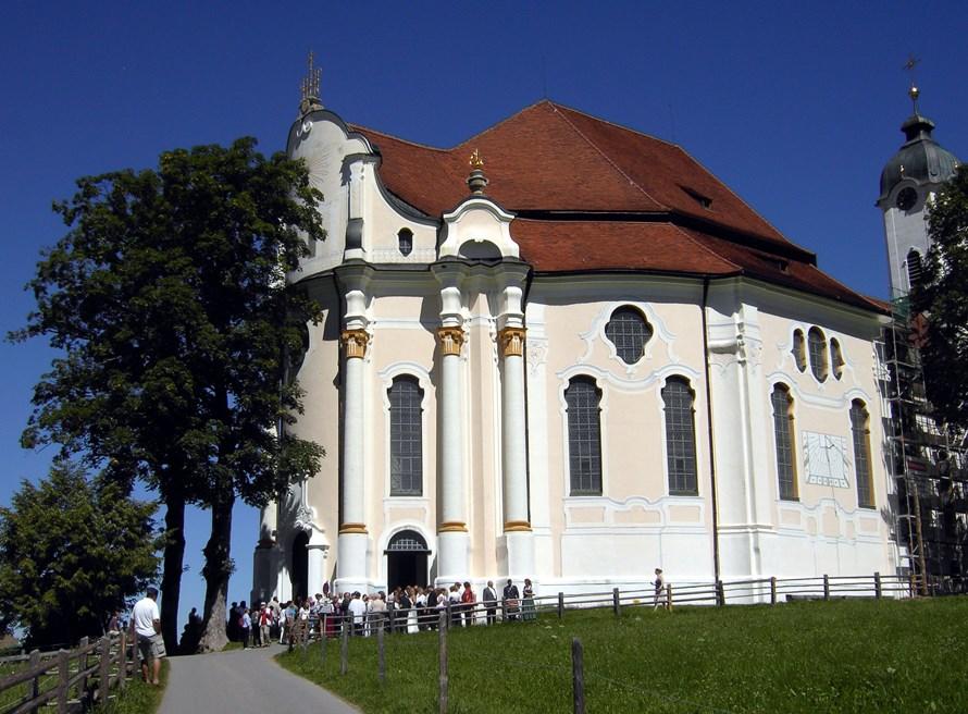 Wieskirche im Pfaffenwinkel - Cabrioausfahrten.de