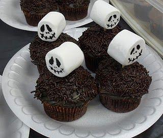 Jack Pumpkin King Muffins für Halloween