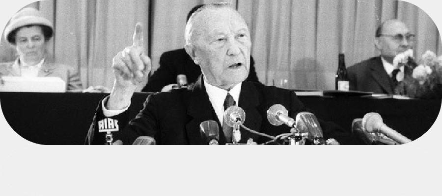 Konrad Adenauer (CDU), Bundeskanzler 1949-1963