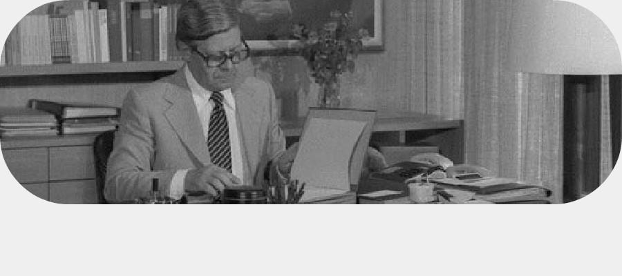 Helmut Schmidt (SPD), Bundeskanzler 1974-1982