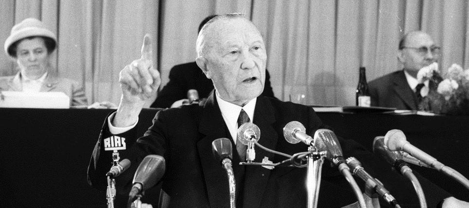 Konrad Adenauer (Foto: Paul Bouserath /KAS-ACDP)