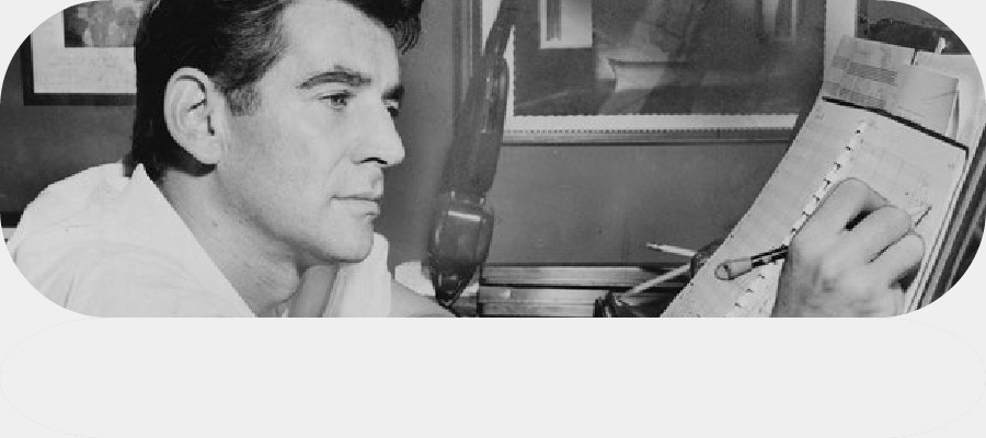 Leonard Bernstein (Dirigent und Komponist)