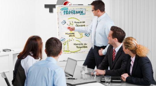 <h3>Training</h3>Die Trainingsmethoden der TGM sind vielseitig: ob die klassische Visualisierung mit Flipchart und Pinwand gefragt ist, oder ob moderne Visualisierung wie...