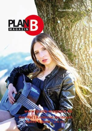 Cover Plan B Magazin, November 2014. Foto: Conny Ehm Photography