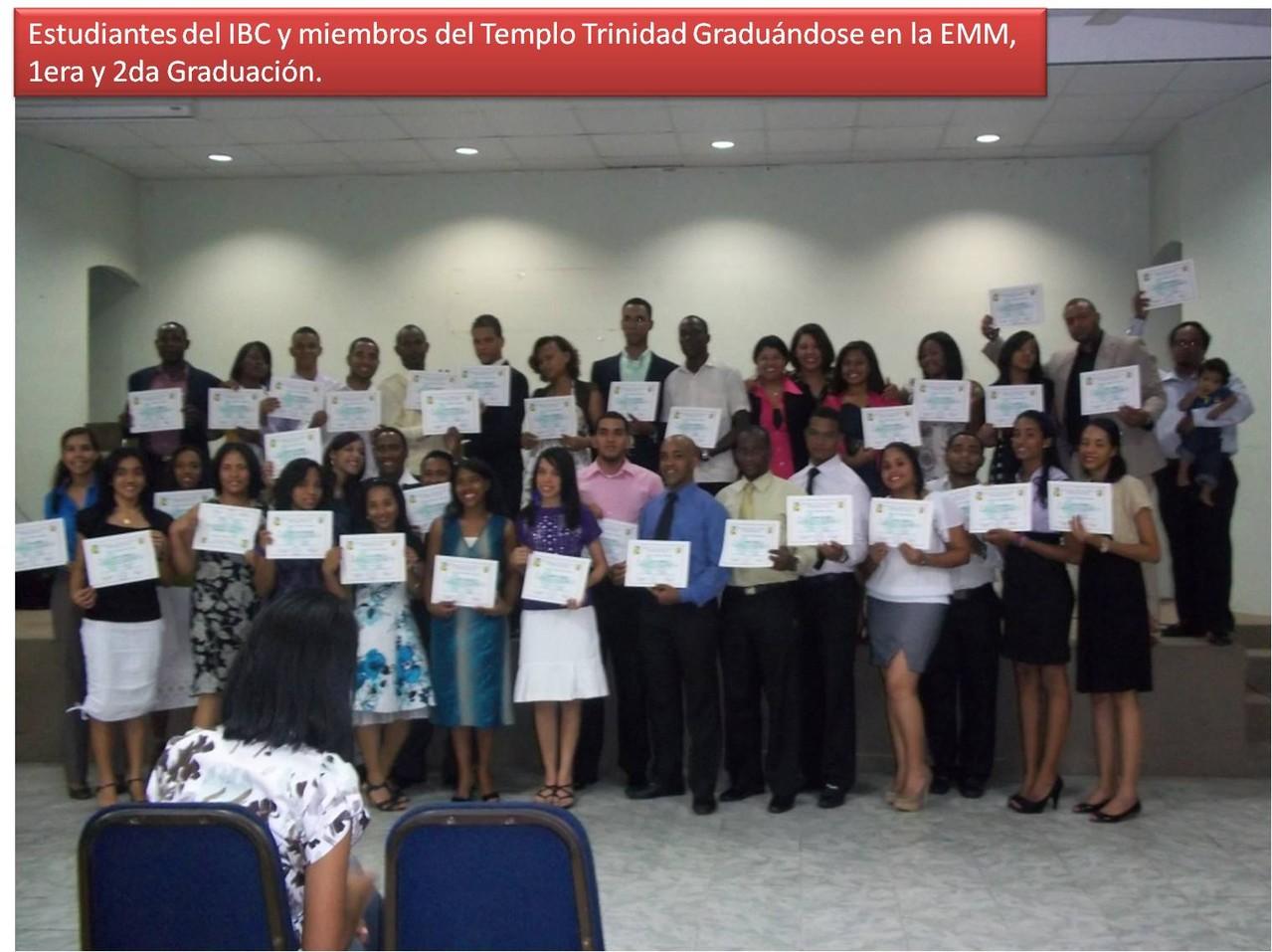 2 Graduaciones IBC e Iglesia Trinidad