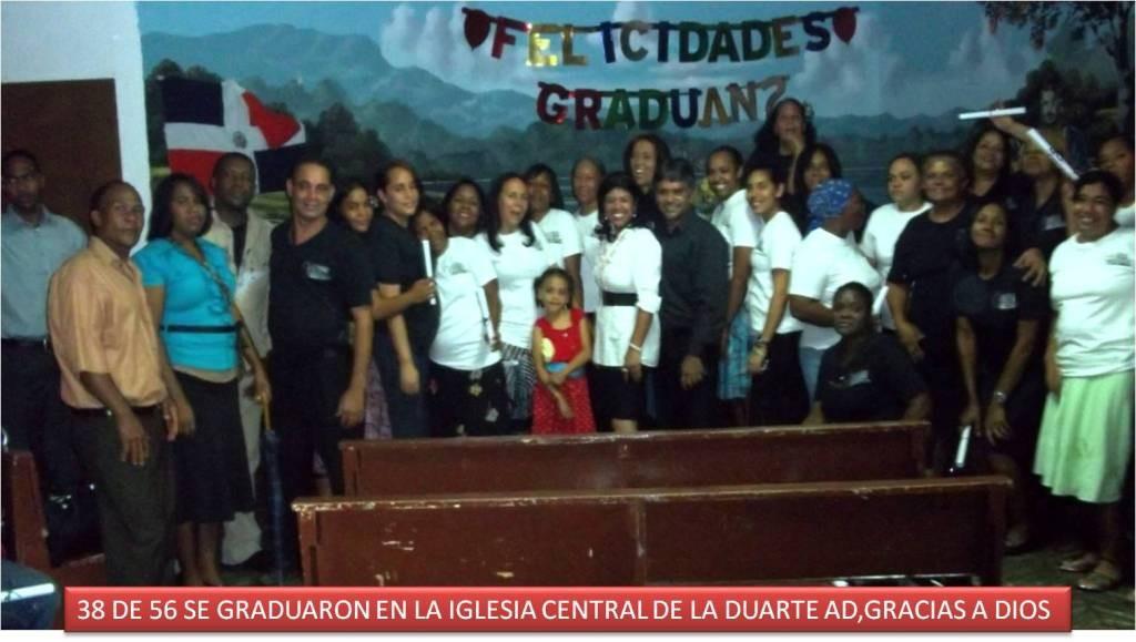 Graduacion de la Iglesia Central Sto Dgo