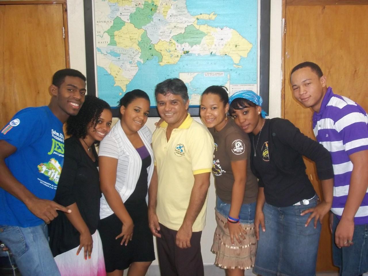 Alumnos de Comision del Maestro 2012