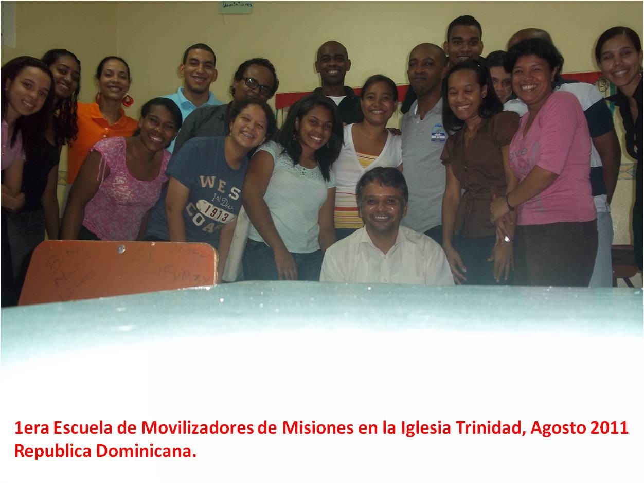 Estudiantes de la Iglesia Trinidad