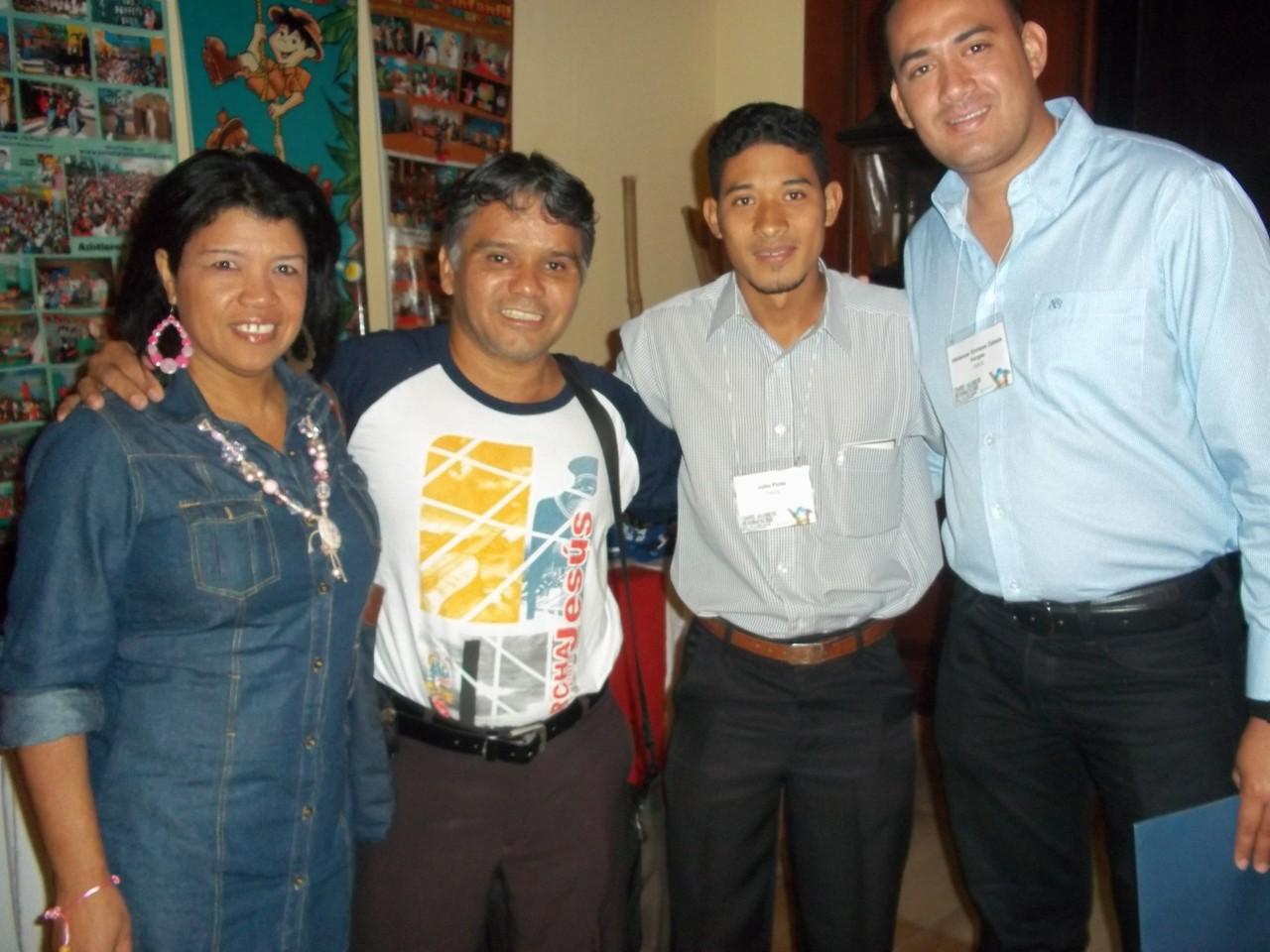Hermanos de Venezuela en la Cumbre de COMIBAM