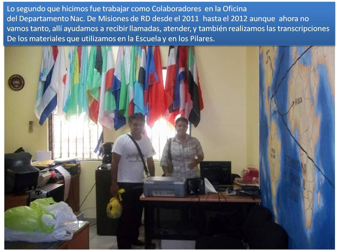 Oficina Nacional de Misiones RD