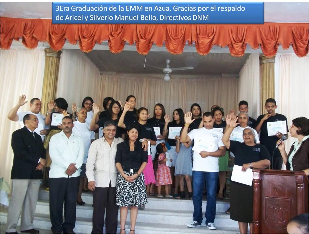 Graduacion Iglesia Central de Azua