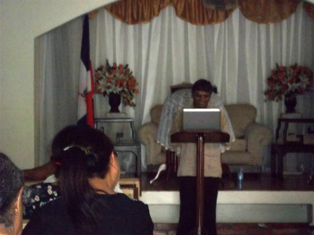 En la Iglesia de Jerson Carbajal