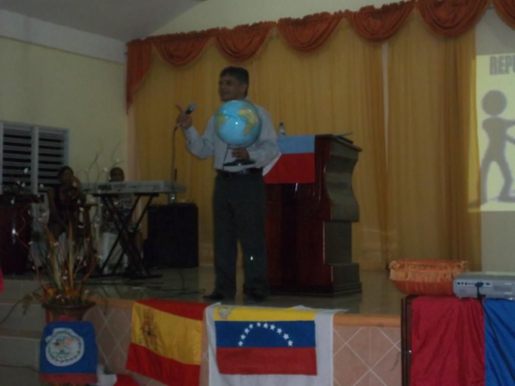 Predicando en Mahanain,Nagua