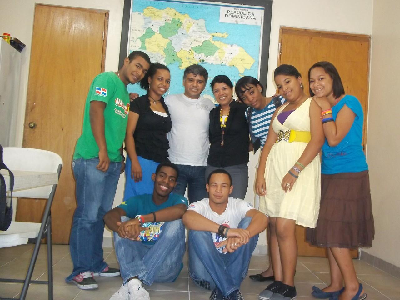 Alumnos de Comisión del maestro