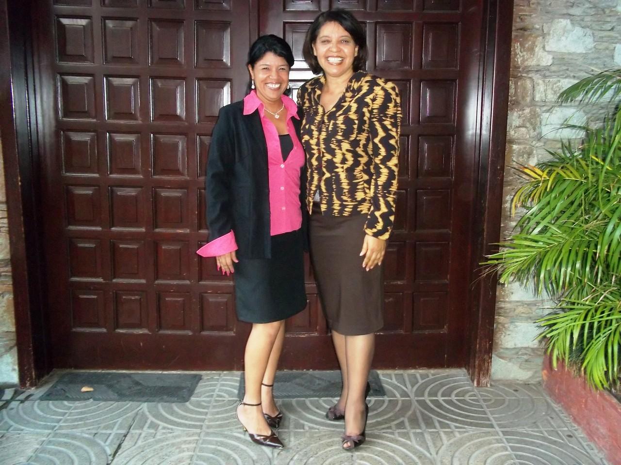 Aricela Morel y Eva