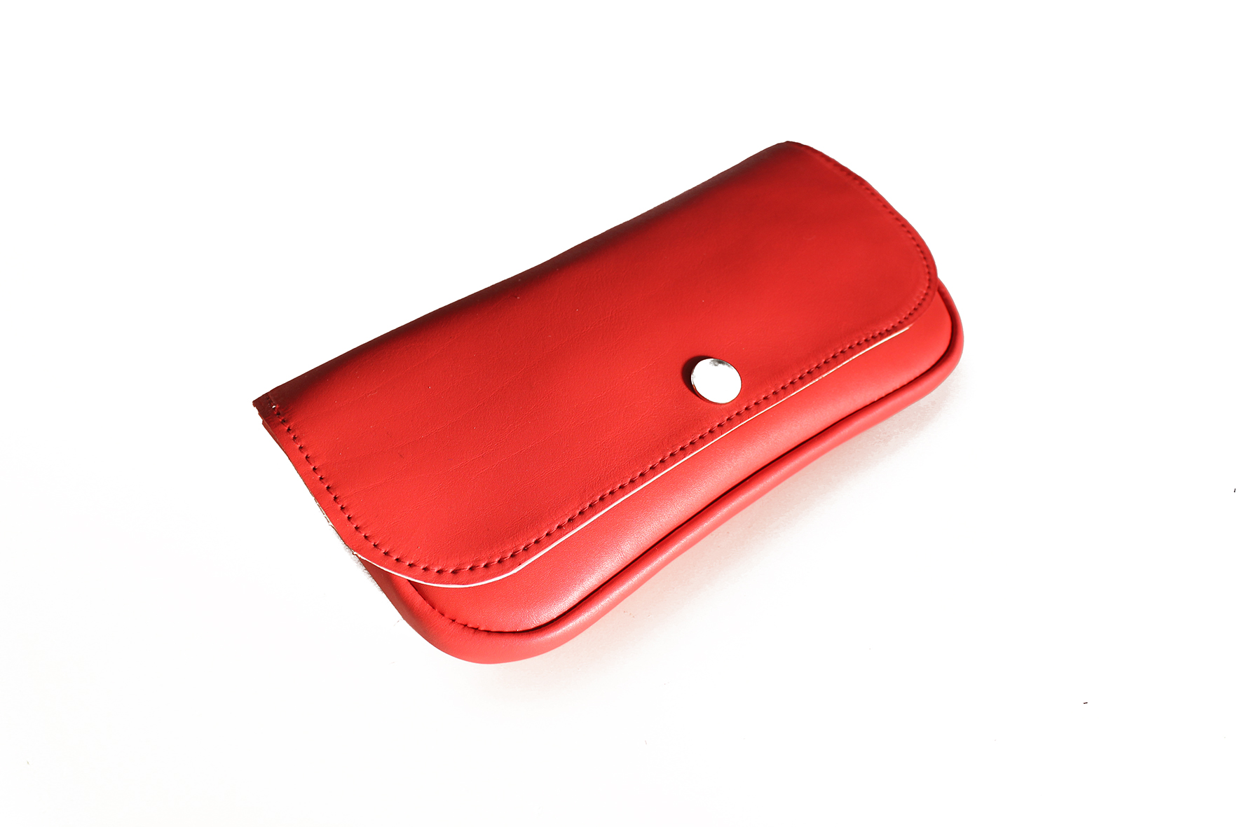 Pochette portefeuille rouge
