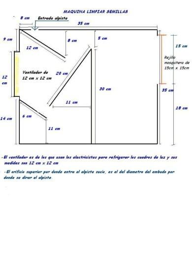 Planos para hacer una maquina de limpiar alpiste p gina for Pagina para crear planos