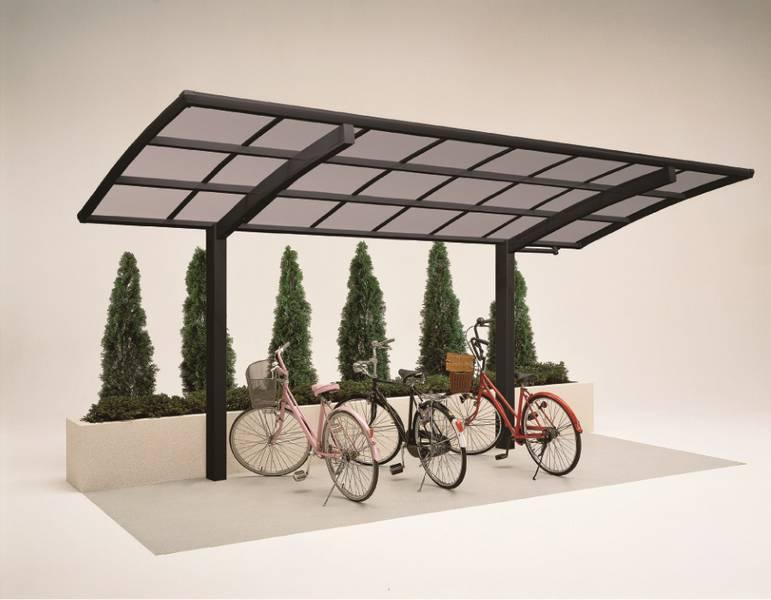 Miniport Fahrrad-Unterstand mit Bogendach