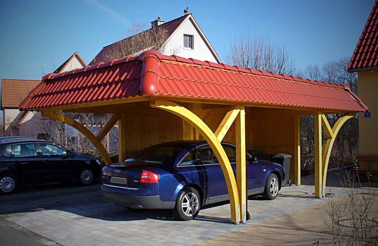 individual carport carport in holz alu stahl carport bausatz. Black Bedroom Furniture Sets. Home Design Ideas