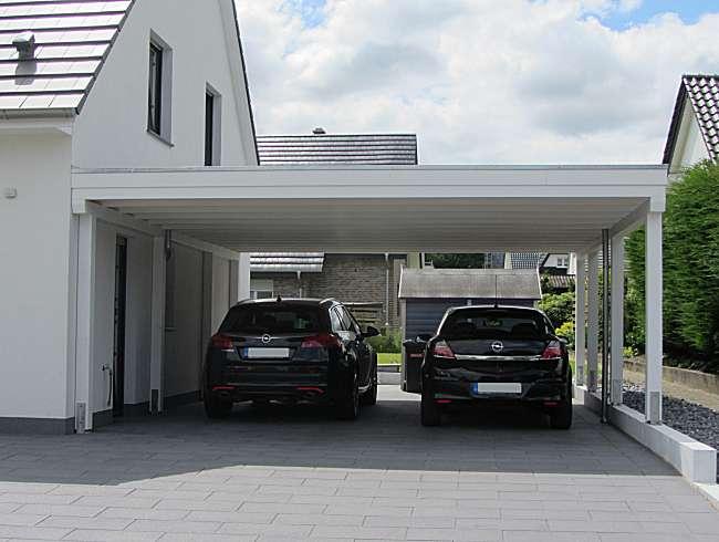 Foto Glasdach-Doppel-Carport