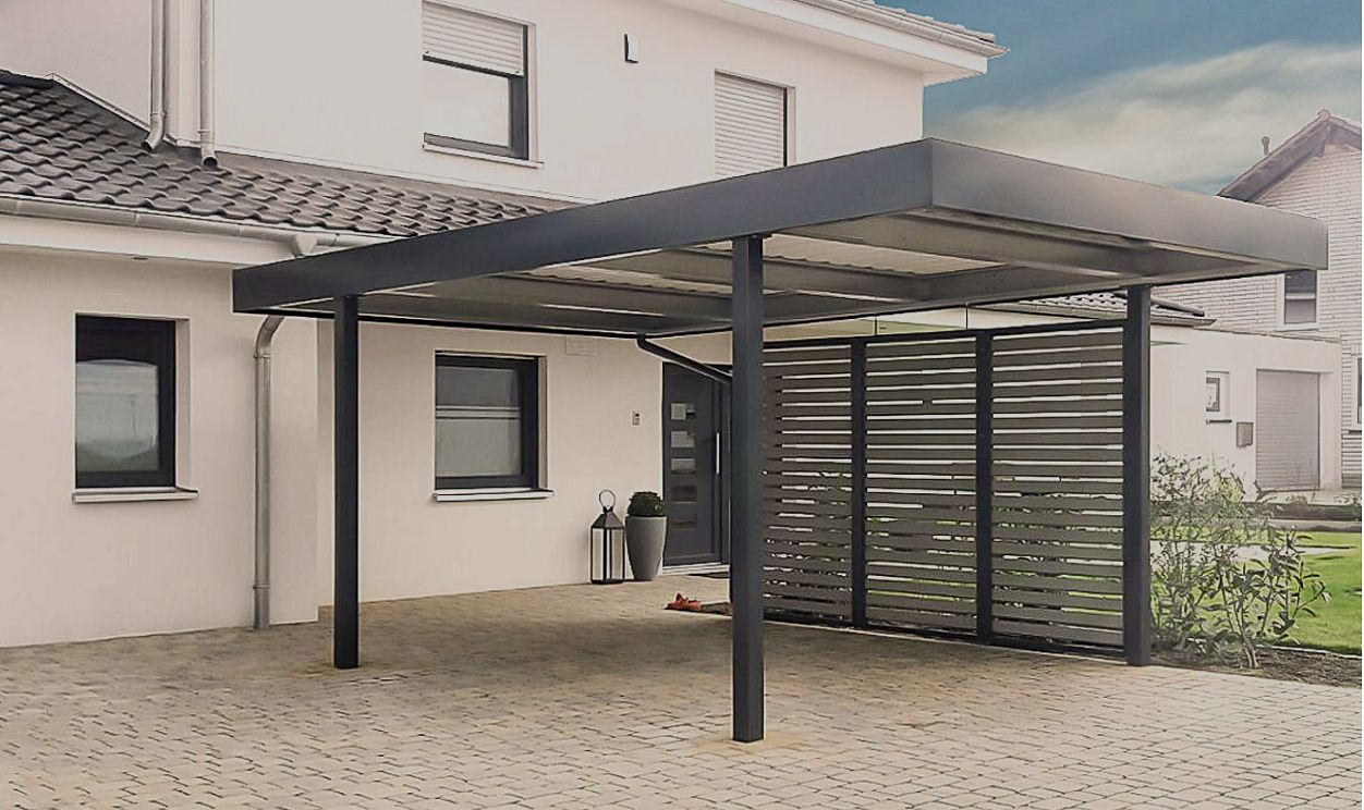 affordable fr pkw in wei with carport 5x3m