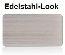 Farbton Edelstahl-Look