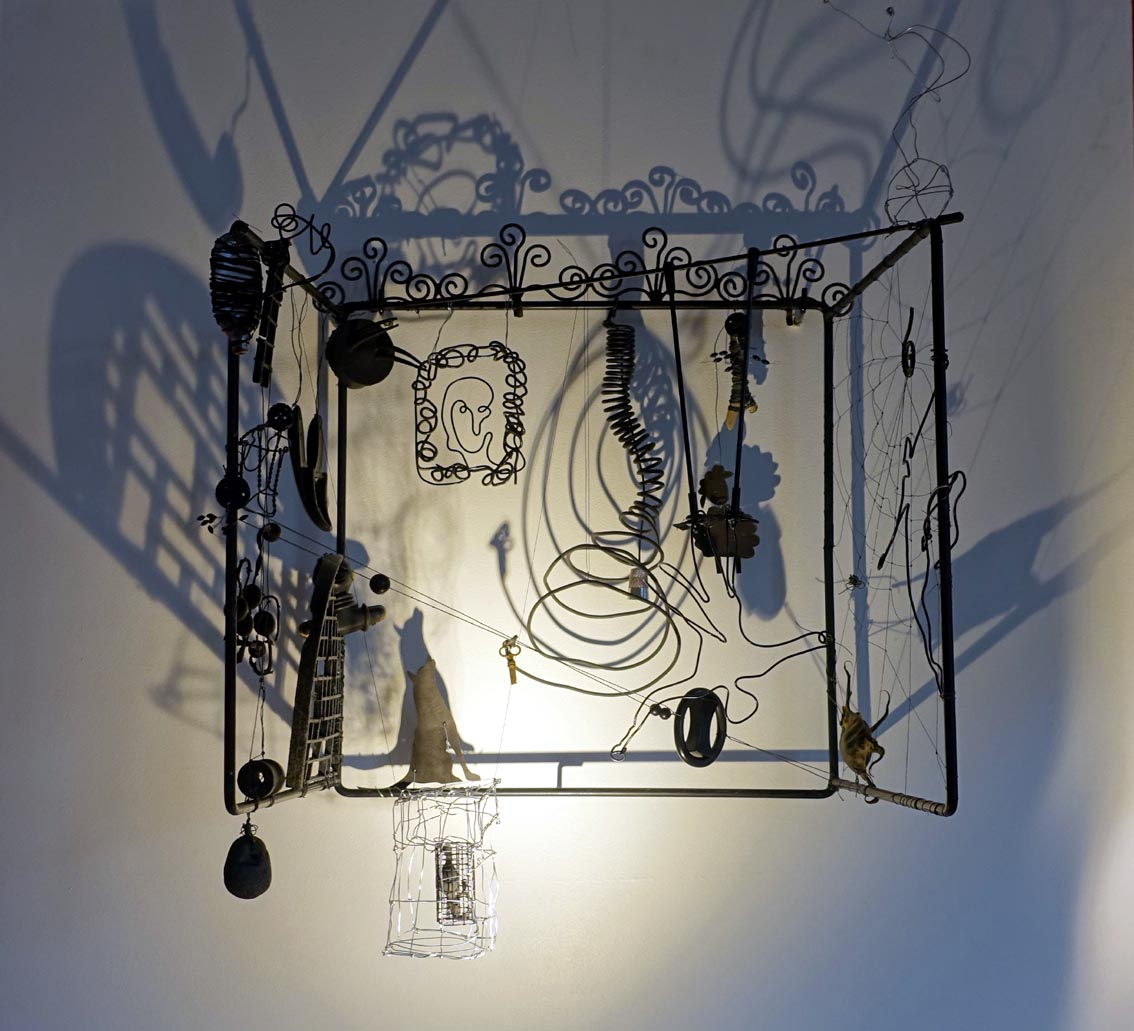 """""""Nuits blanches sur fond noir"""", 2017"""