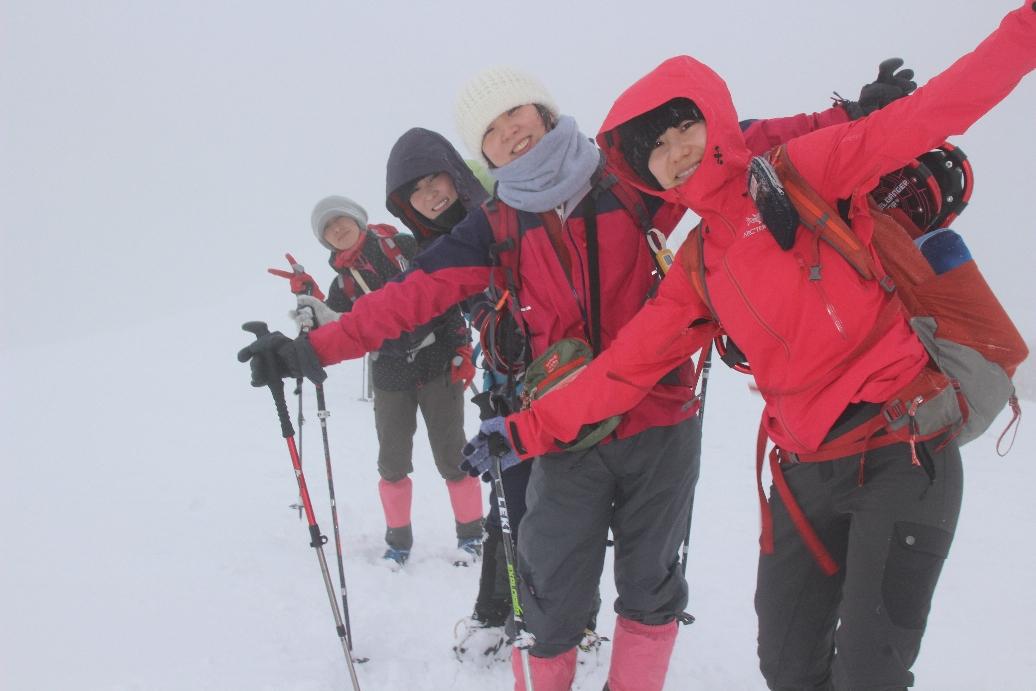 2019.01.05 武奈ヶ岳 豪雪の西南稜アタック