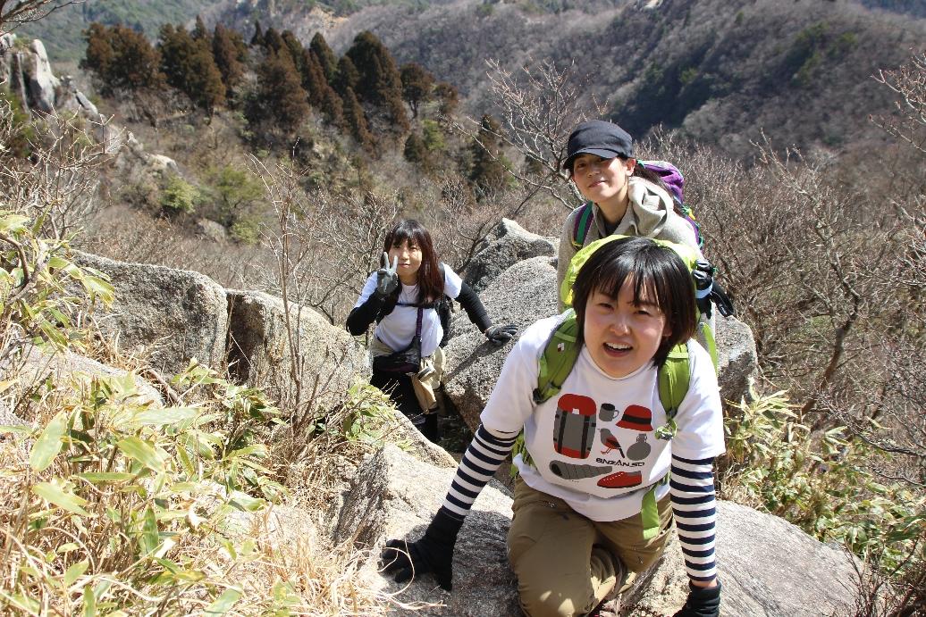 2020.03.21 鈴鹿の鋭峰 鎌尾根からの鎌ヶ岳 1,161m