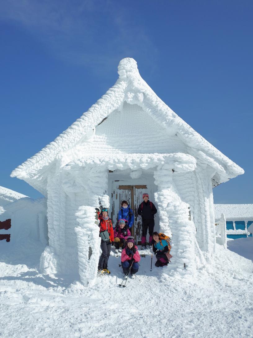 2021.01.06 初登り 伊吹山 1,377m aiming for the frozen 🎥
