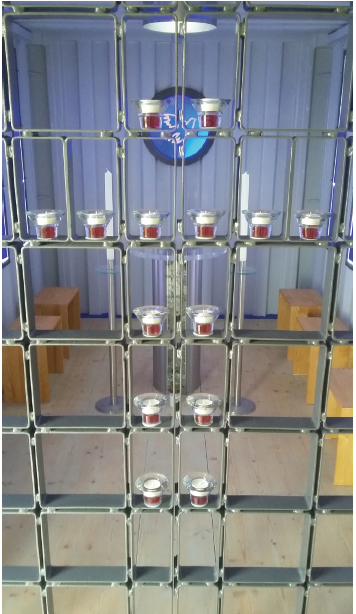 Kerzenständer Heilig-Geist-Kapelle Aresing