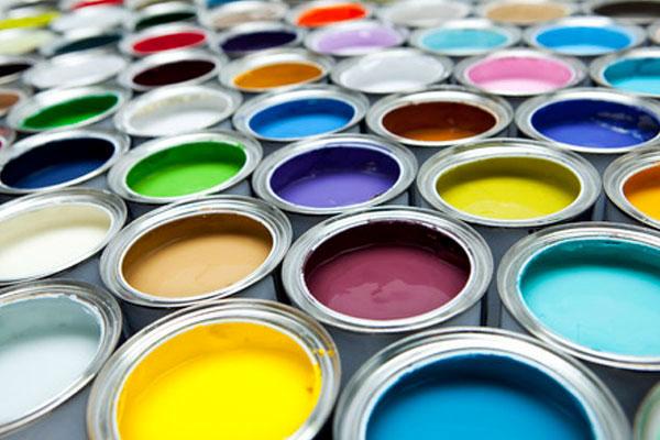 様々な色の塗料イメージ