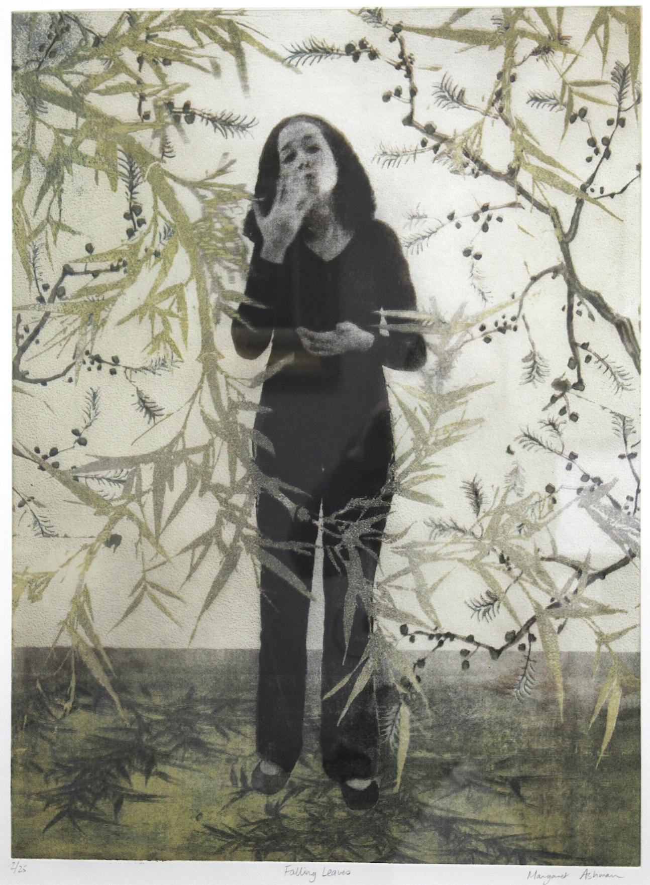Margaret  Ashman  /  マーガレットアシュマン フォーリングリーブス 銅版画 紙