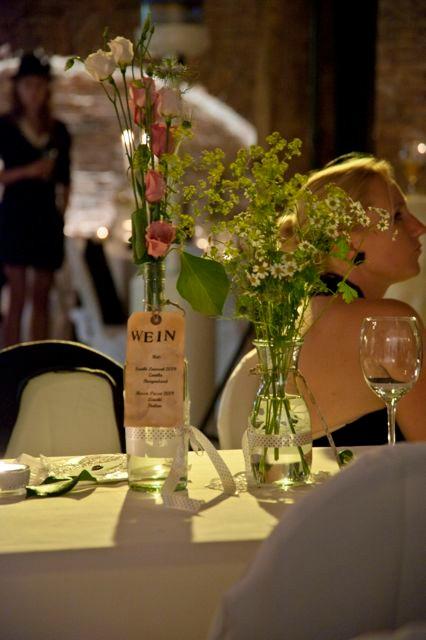 Nostalgie-Hochzeit Blumenschmuck Alchemilla Waltraud Riedl