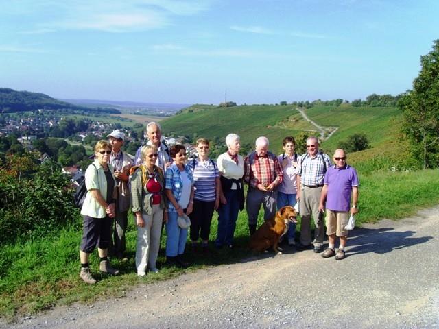 Aussicht auf Hohenklingen - oberhalb Freudenstein