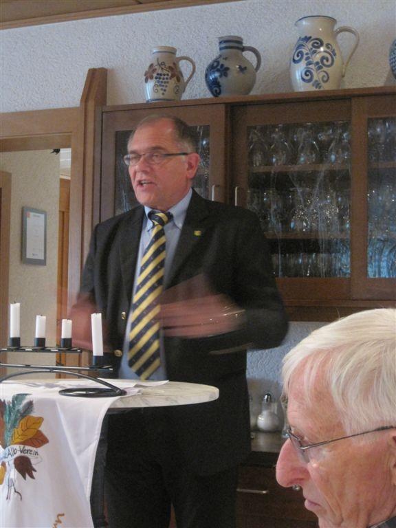 Bürgermeister von Ölbronn-Dürrn, Norbert Holme