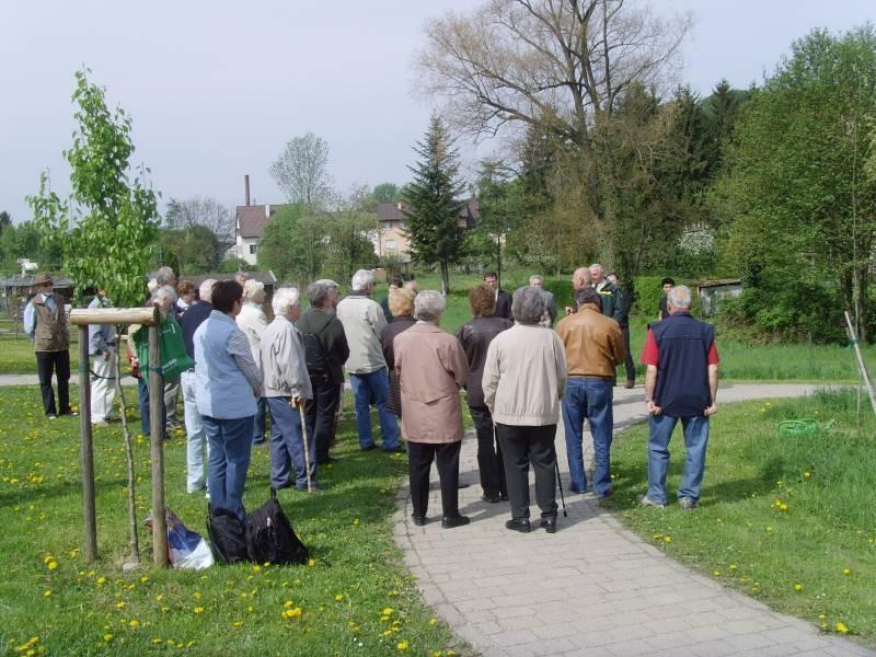Seit 1954 pflanzt der Albverein jährlich einen Gedenkbaum