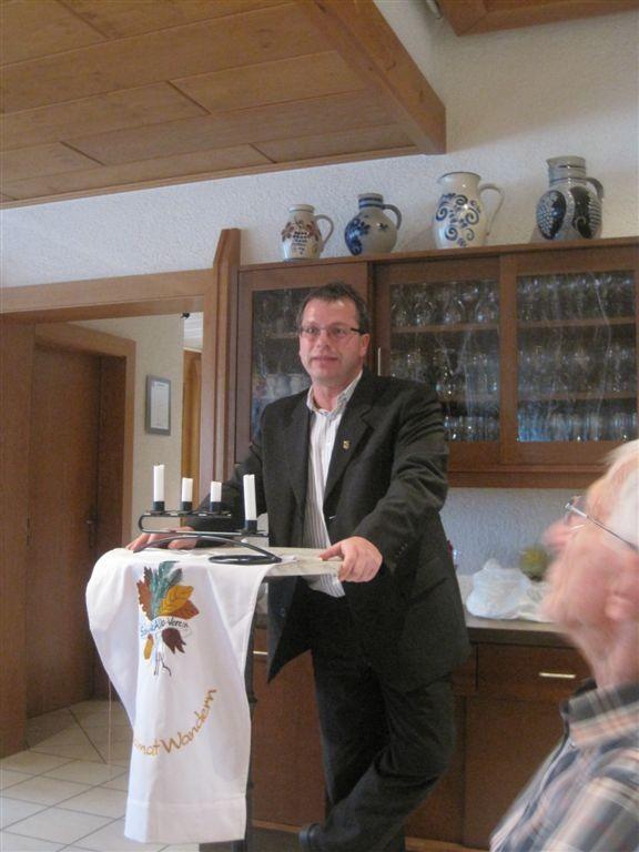 Bürgermeister von Maulbronn, Andreas Felchle