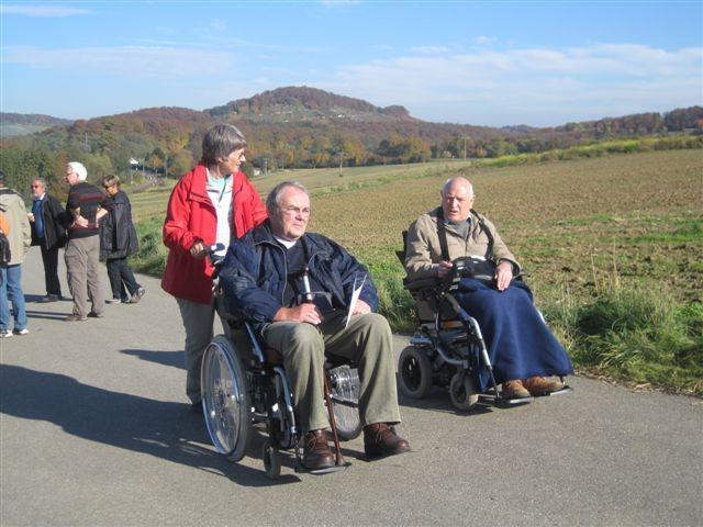 Rollstul mit Elektroantrieb