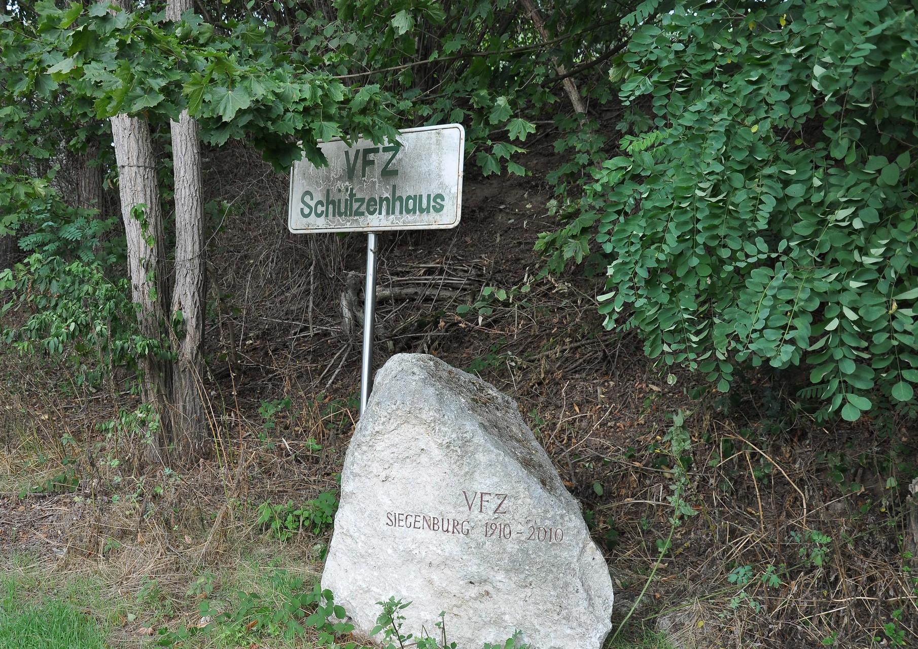 ...dass es hier zum Schützenheim Siegenburg geht