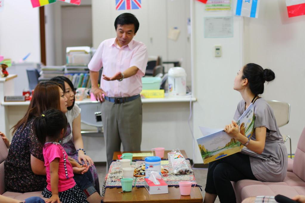 韓国国際交流員から韓国語を学ぶ